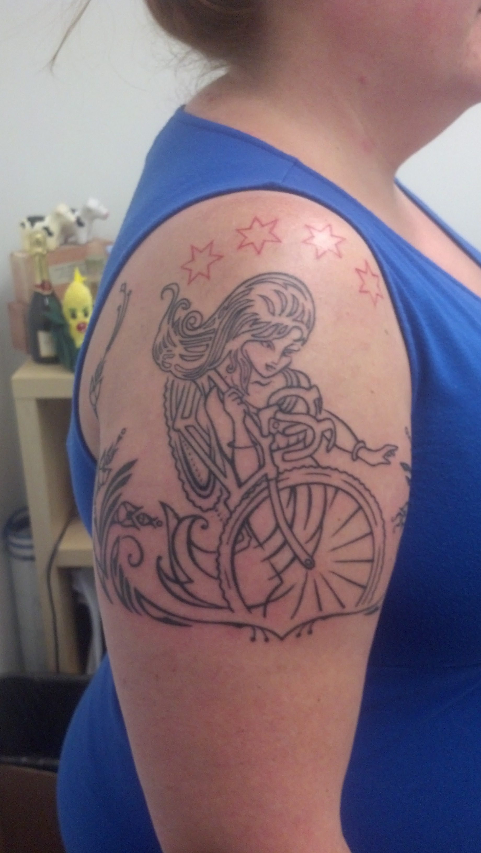 Chicago Cycling Tattoo Accidentally Jewish